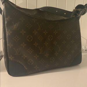 Authentic Louis Vuitton - black details!